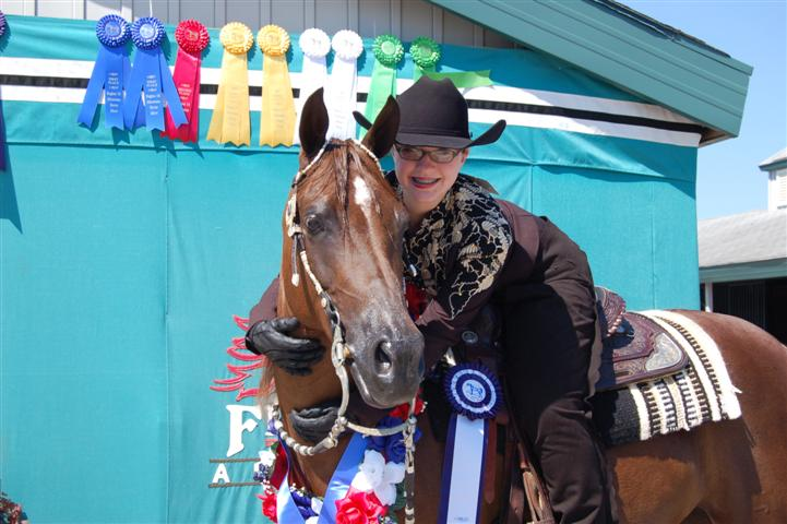 Sierra and Kat Western Eq Champion